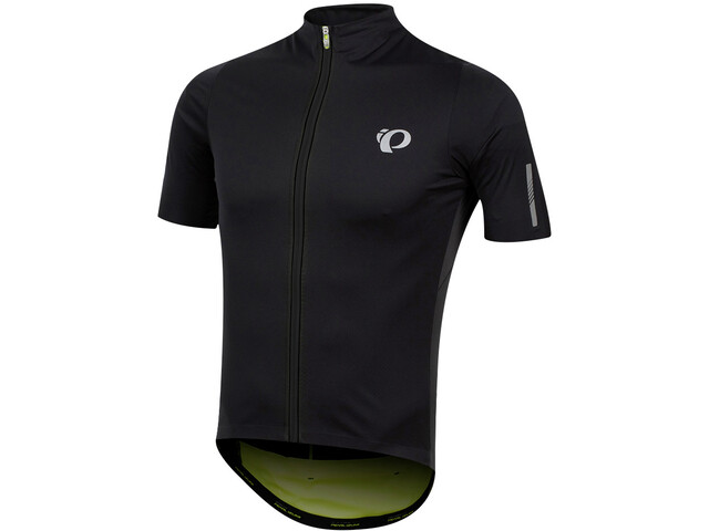 PEARL iZUMi P.R.O. Pursuit Wind Jersey Heren, black/screaming yellow
